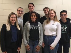 Parkrose High School students selected for All Northwest Honor Choirs are (from left) Nadia Pahodzina, Easton Fiser, Shyrell Padmore, Hunter Fields, Joe Souders, Lily Sveinbjornsson and Eric Barrientos. COURTESY MW PHOTOS