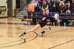 PCS senior Simone Gordon will attend Concordia University on scholarship. Among her 2018 volleyball honors are Oregon 2A player of the year and Northwest League player of the year. COURTESY BETH MUMFORD