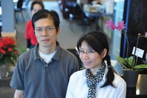 Good World Chinese Restaurant & Lounge owner-operators husband and wife Gou (Kevin) Fen Xu and Wan Hong Su. STAFF/2016