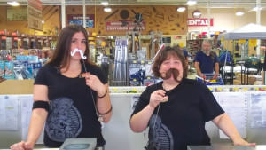 Last month, everybody got in the 'stache act for the inaugural Movember event held at Parkrose Hardware. COURTESY PARKROSE HARDWARE
