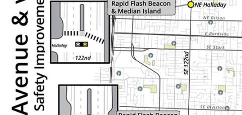 122nd Avenue Improvements Focus On Pedestrian Safety
