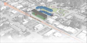 Human Solutions, Inc. has recently bid for and won exclusive rights from the Portland Housing Bureau to negotiate and develop low-income housing and retail space adjacent to the new Gateway Discovery Park on the Halsey/Weidler couplet at Northeast Halsey Street at 106th Avenue. The plan includes a new headquarters space for the nonprofit.
