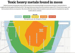 GRAPHIC MAP COURTESY THE OREGONIAN