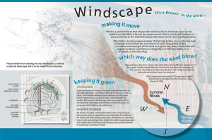 "Windscape, the ""artistic landscape"" sculpture with its attention-attracting poles was built in the stormwater retention facility, or jug handle at Northeast 102nd Avenue and Weidler Street among native plants and trees in 2008. The entire project cost $100,000. COURTESYCITY OF PORTLAND"