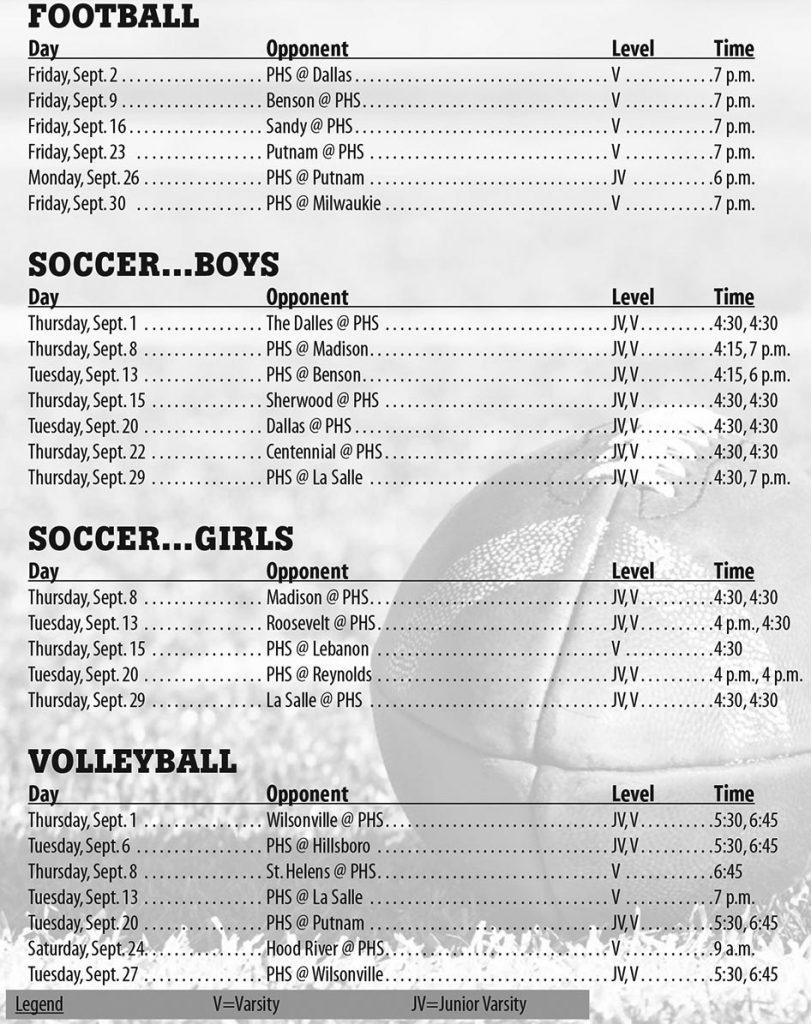 sept16_PHS_athletic_schedule